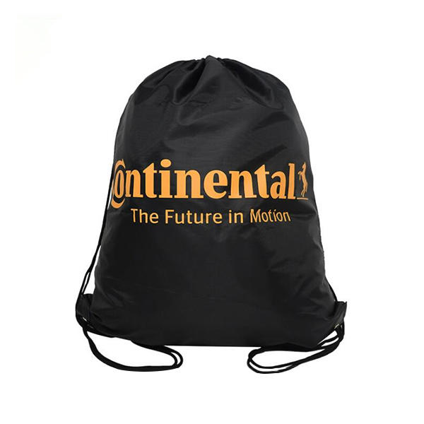 Polyester Promotional Printed Sport Backpack Drawstring Bag