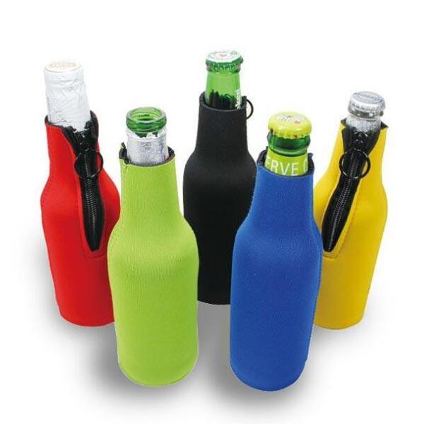 Neoprene Insulated Beer Beverage Bottle Sleeves Bag Drink Koozie Cooler