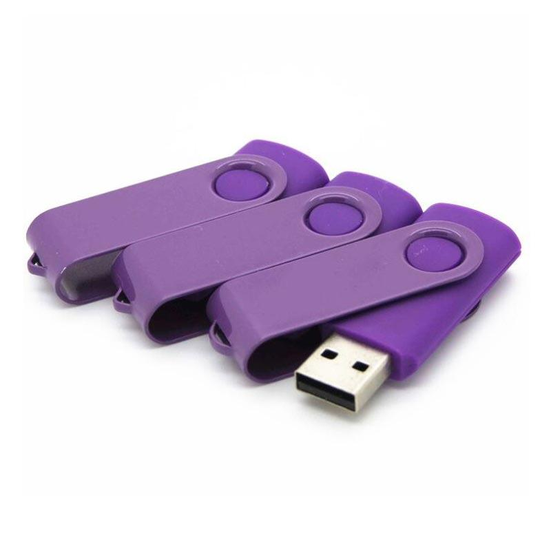 Metal Swivel flash disk with logo printing