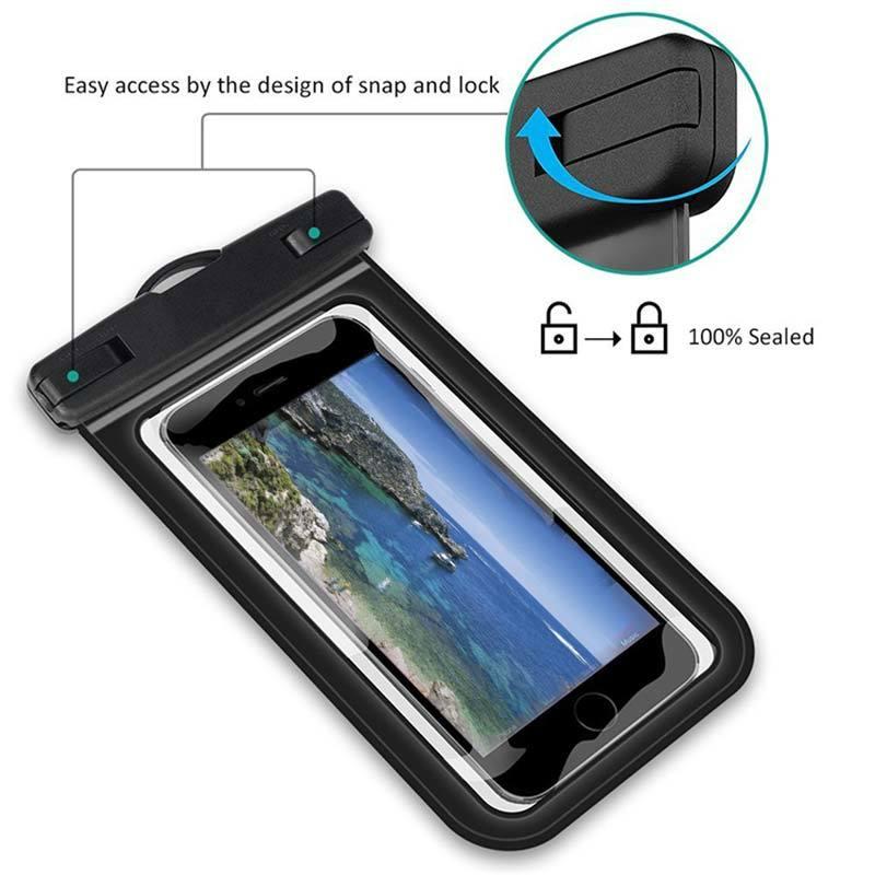 Summer PVC Waterproof Phone Bag Case