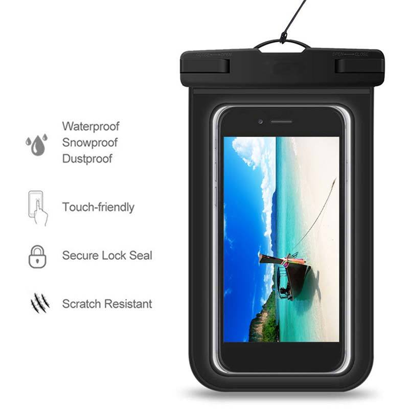 Summer PVC Waterproof Phone Bag Case