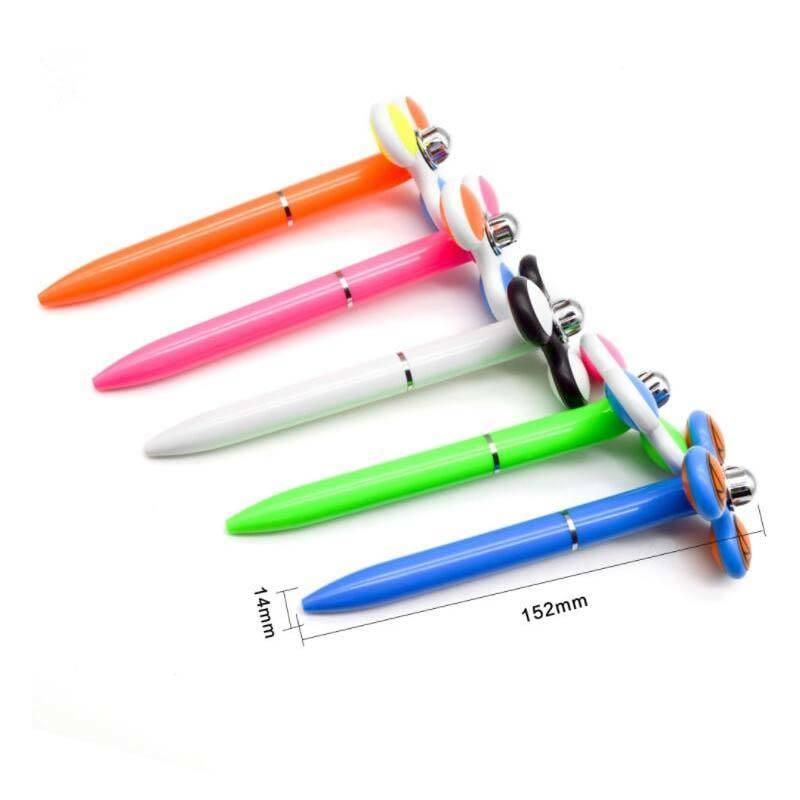 Plastic Novelty pen with Fidget Spinner