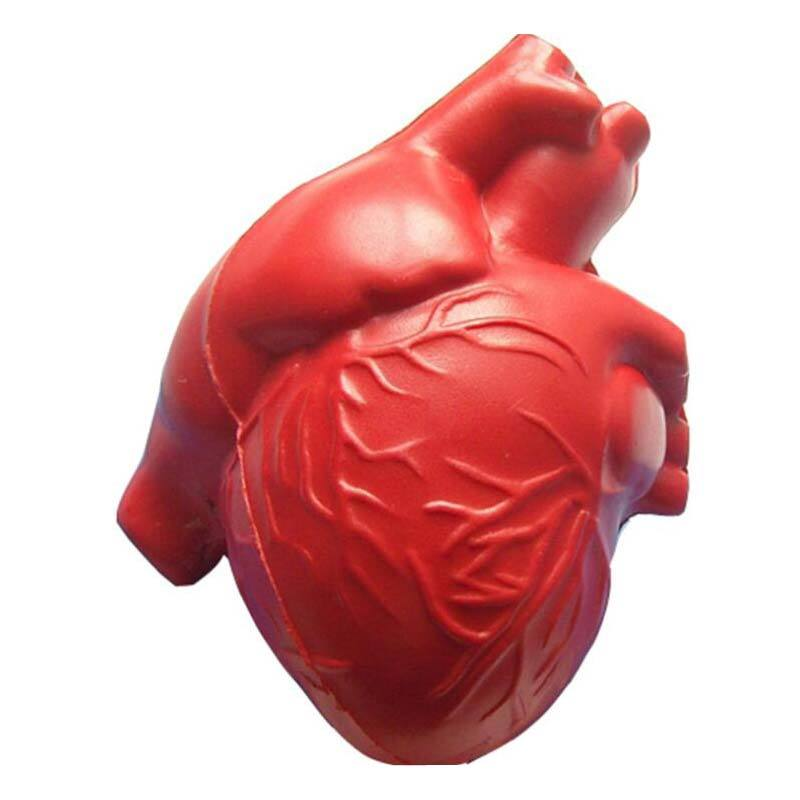 Medical Usage Heart Shaped  PU Stress toy