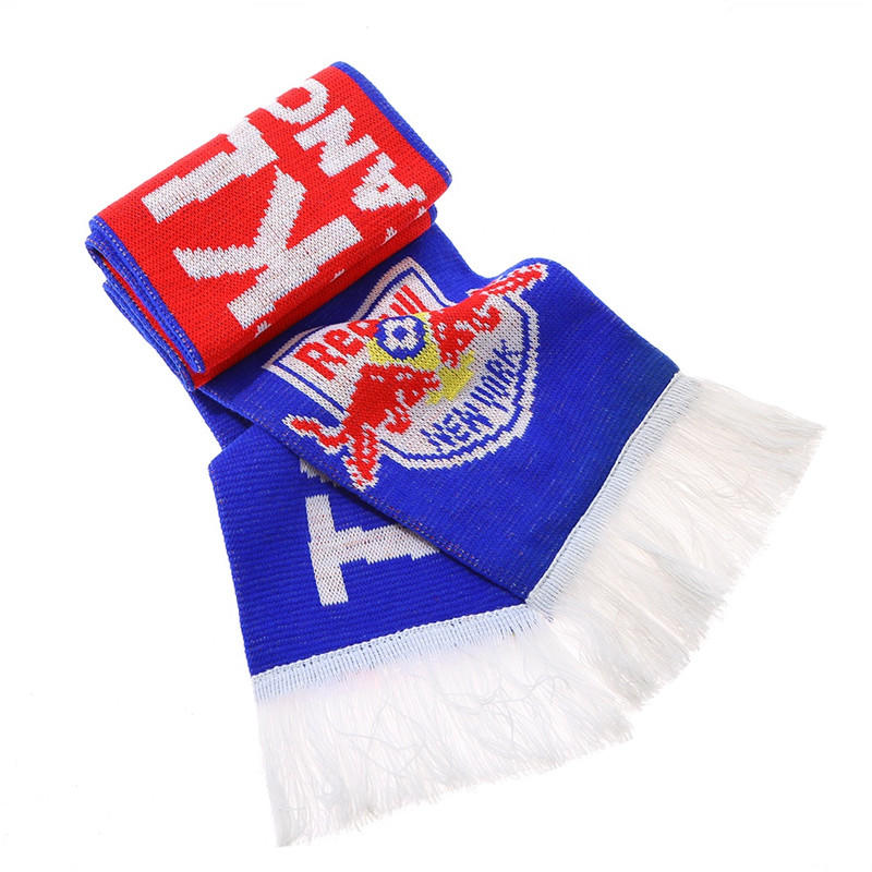 Knitted Jacquard Term Football Soccer Fans Scarf