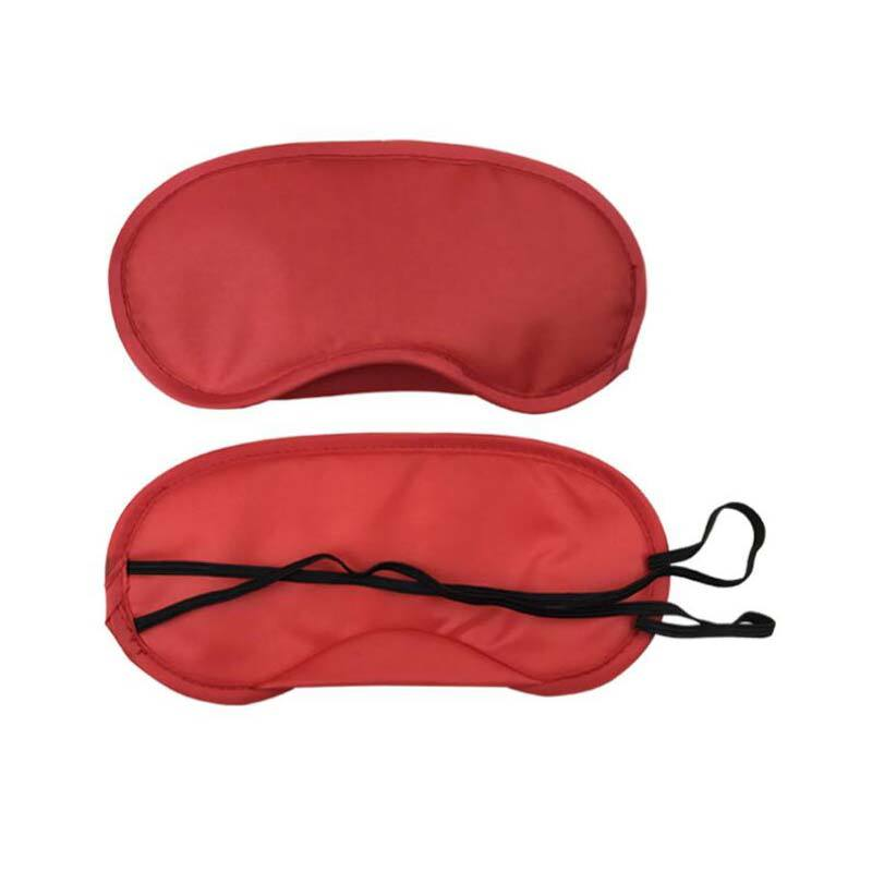 Custom polyester eyeshade Sleep Eye Mask