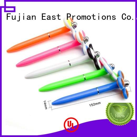 East Promotions plastic promotional novelty pens factory price for giveaway