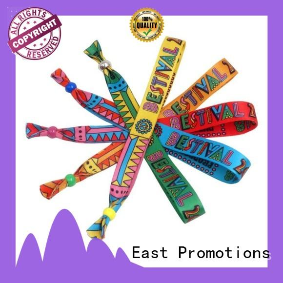 cost-effective cloth concert wristbands from China for party