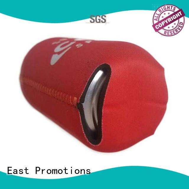 East Promotions bag promotional can koozies in different color for beer