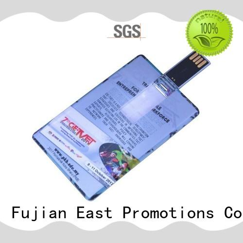 East Promotions plain custom usb drives printing for data storage