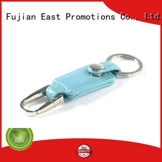 East Promotions hot-sale leather keychain supplies directly sale for sale