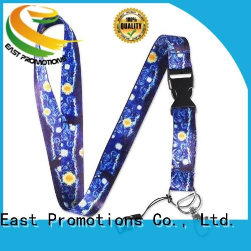 East Promotions lanyard with logo suppliers bulk buy