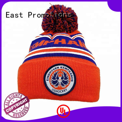 embriodery beanie with cap winter for adult East Promotions