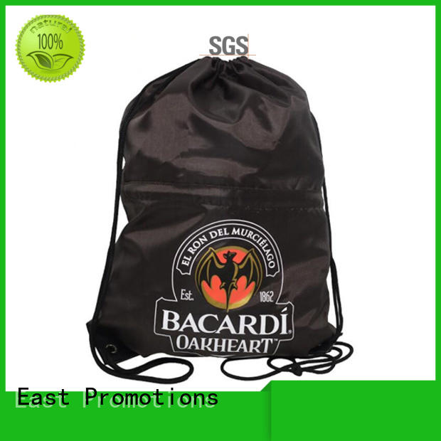 East Promotions drawstring sports backpack best supplier for trip