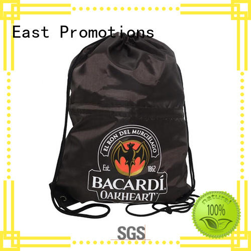 canvas drawstring bags zipper for traveling East Promotions