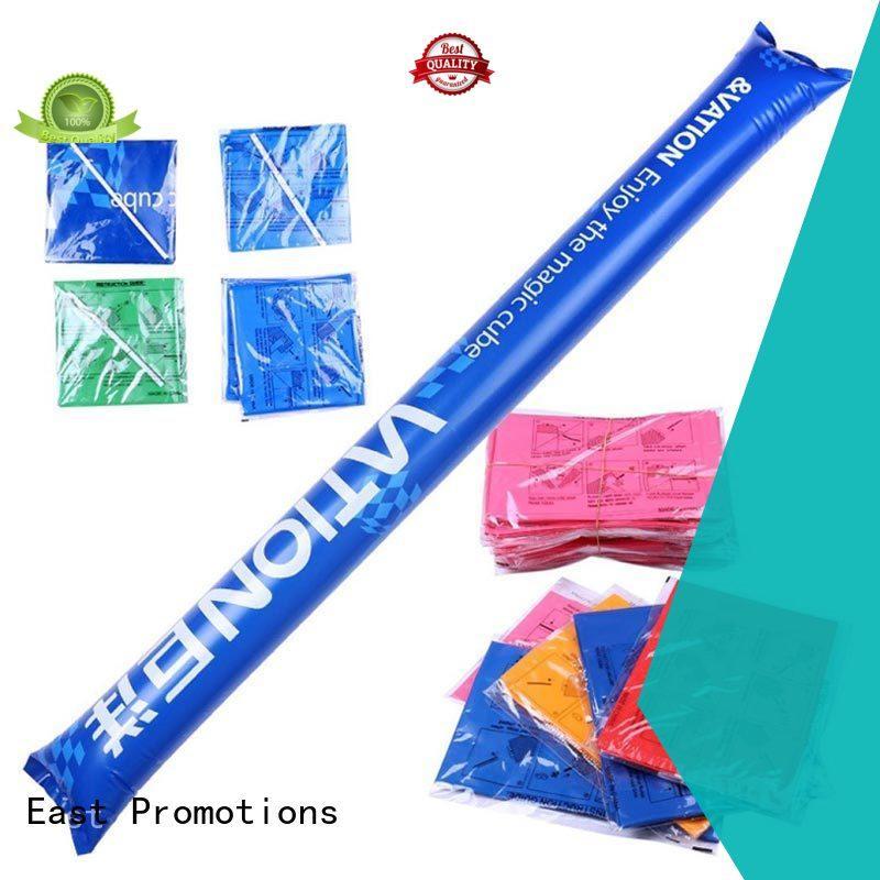 East Promotions hot-sale inflatable boom sticks best manufacturer bulk buy