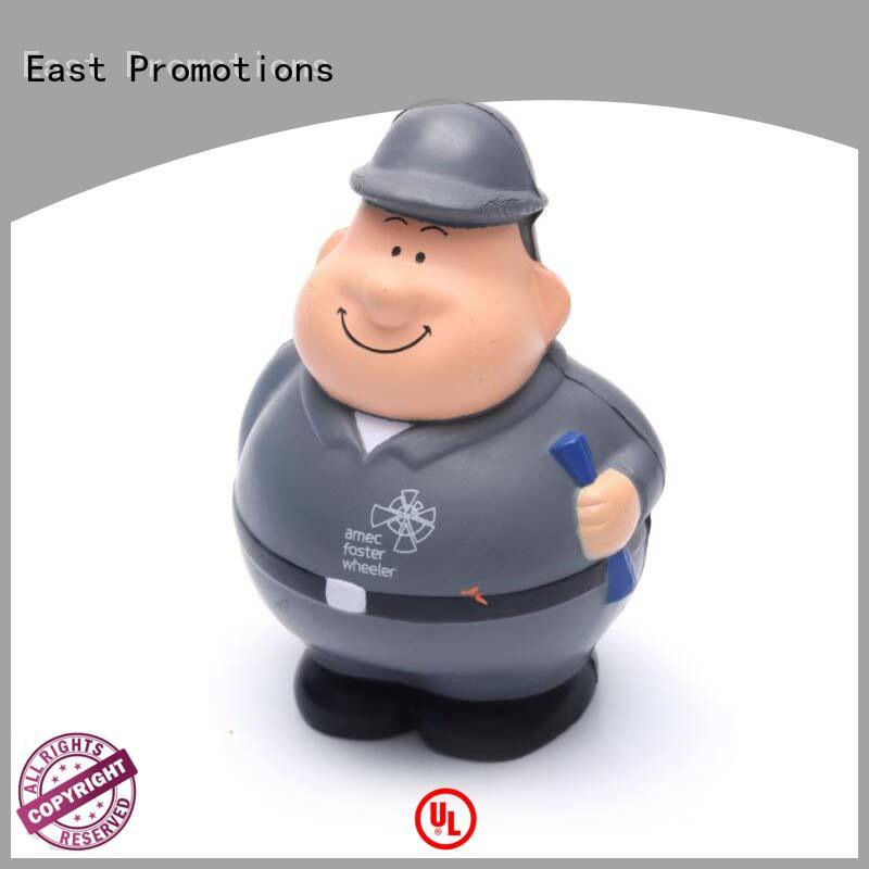 East Promotions top selling promotional stress relievers company for shopping mall