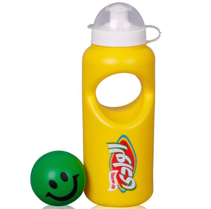 PE Sports Water Bottle With Ball Design