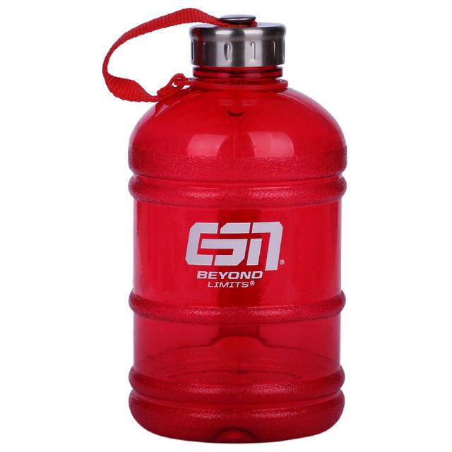 2.2L plastic jug with handle and plastic sports cap