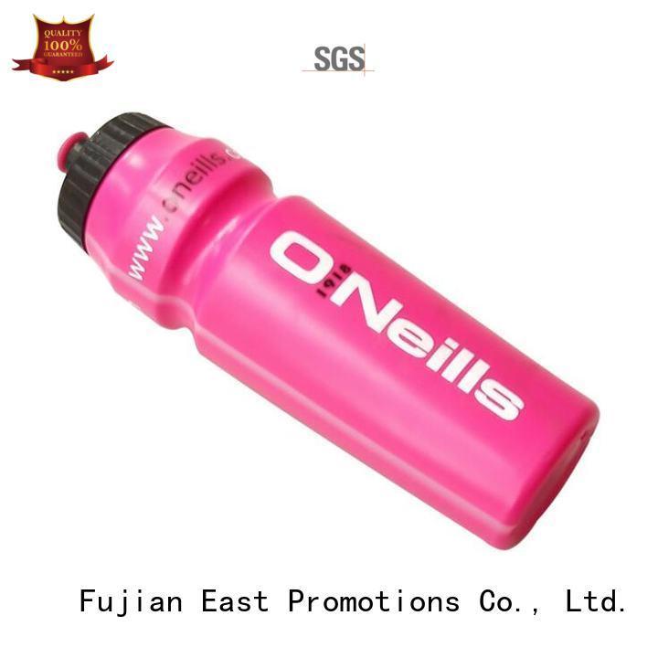 Promotional Custom Logo 600ml PE Shaker Drink Sports Water Bottle