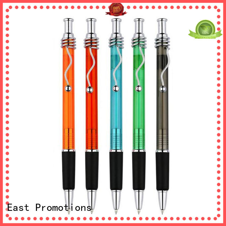 East Promotions plastic cheap promotional pens factory price for children