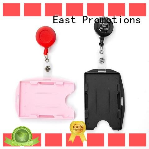 East Promotions hot-sale custom lanyards no minimum certifications for card