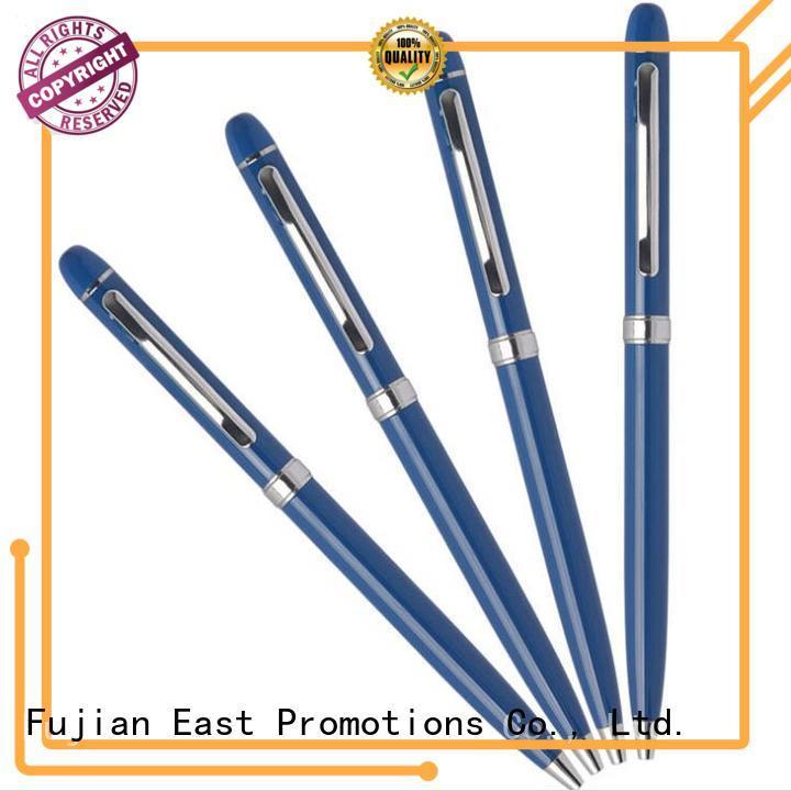 durable mini metal pen vendor for work East Promotions