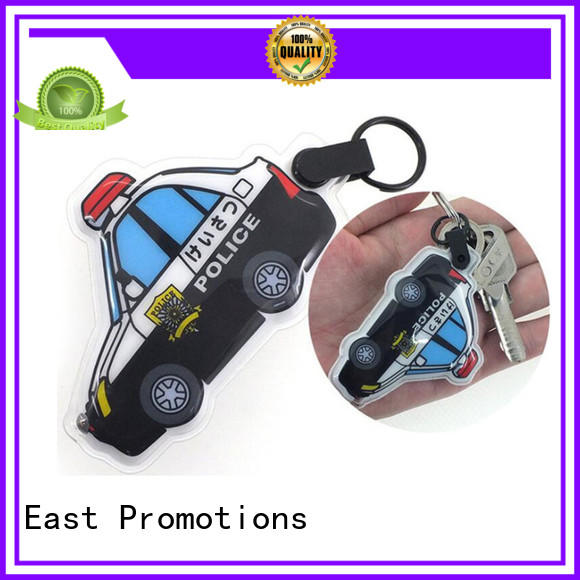 East Promotions plastic custom keychain flashlights overseas market for key