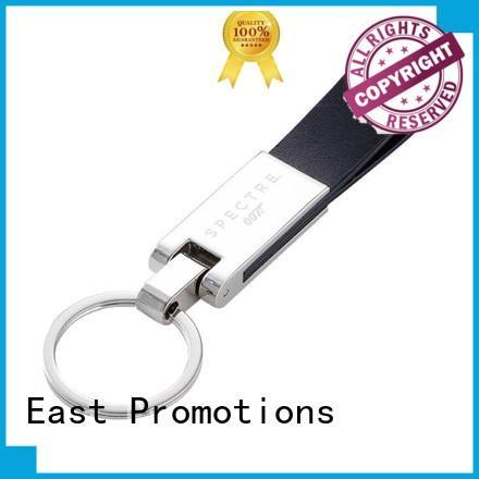 Wholesale Custom PU Leather Keychain with Gift Box