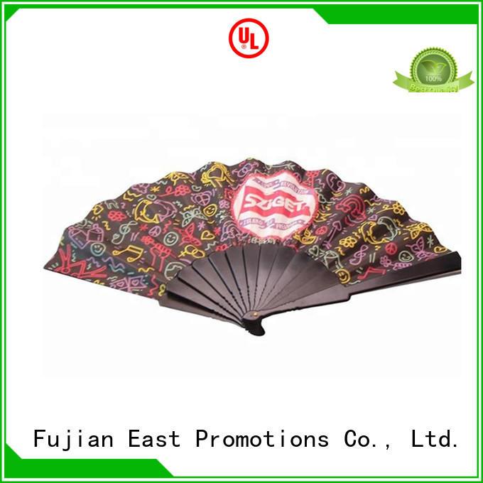 plain bamboo hand fan color bulk production for gift