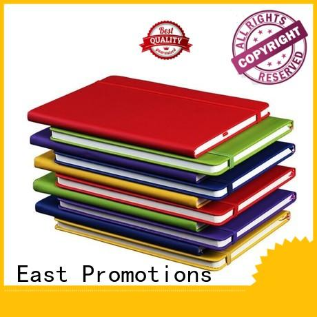 East Promotions pu notebook stationery on sale for school