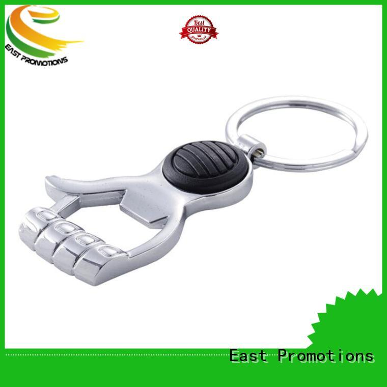 East Promotions promotional keychains metal manufacturer bulk buy