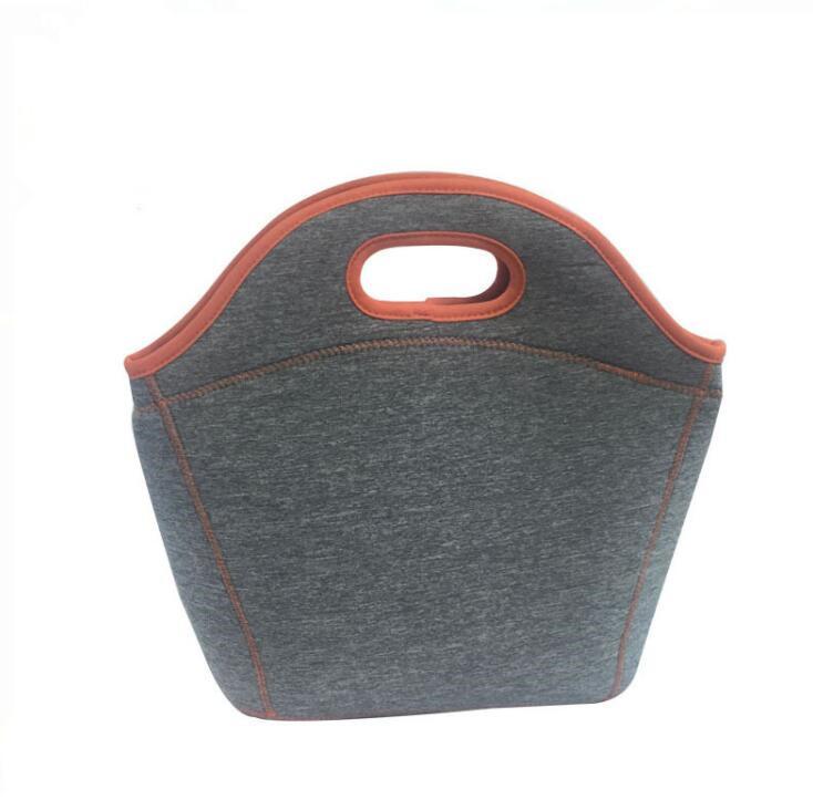 Hot Sales Neoprene Food Delivery Handbag Cooler Lunch Bag