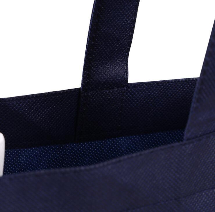 Custom Eco-friendly Non Woven Shopping Tote Bag with handle