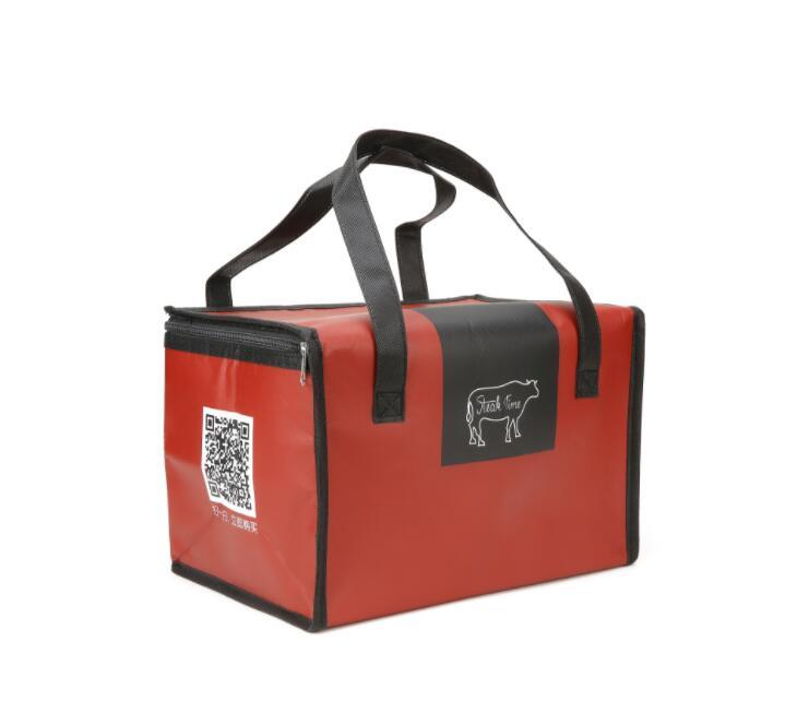 Custom 6 Pack Non Woven Insulated Thermal Lunch Cooler Bag