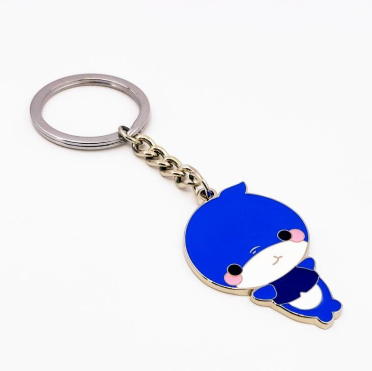Wholesale Personalized Metal Key Ring Zinc Alloy Cartoon Keychain