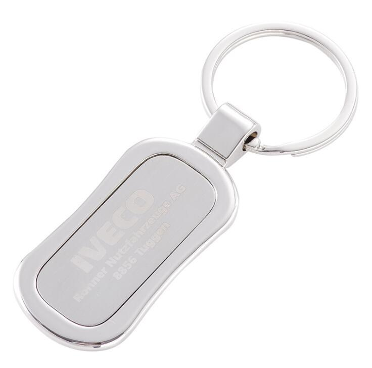 Wholesale Cheap Price Custom Blank Metal Key Ring Sublimation Key Chain