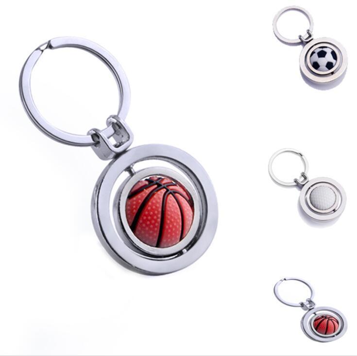 China Factory Cheap Custom Ball Keychain football keyring