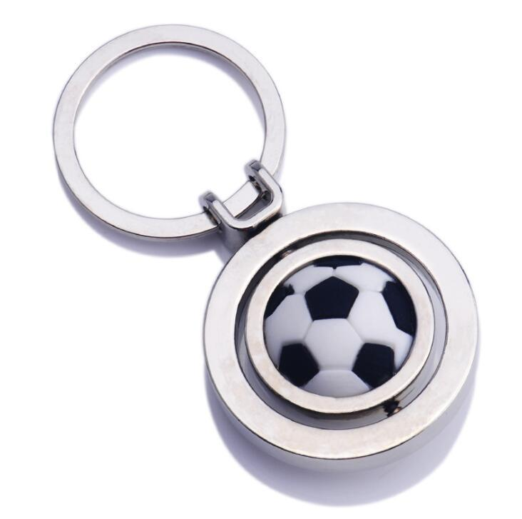 China Factory Cheap Custom Ball Keychain football keyring