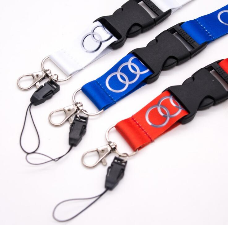 High Quality Custom Silk Screen Printing Cell Phone Neck Lanyard with ID Card Holder
