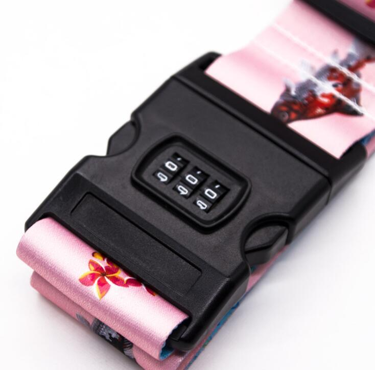 Luggage Belt Strap Lanyard with Plastic Buckle
