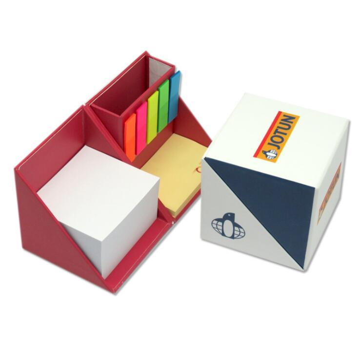 Office Supply Stationery Sticky Note Box for Promotional Gifts