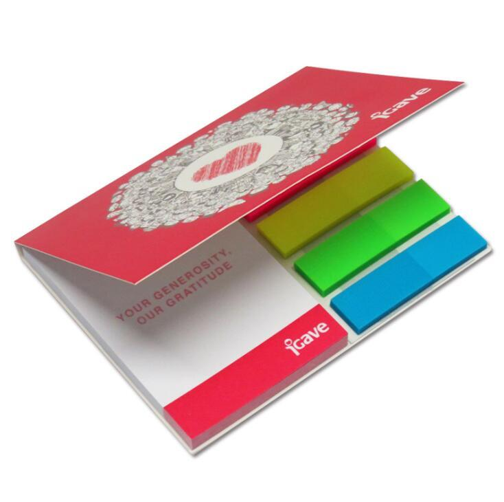 Custom Advertising sticky notes with hard cover