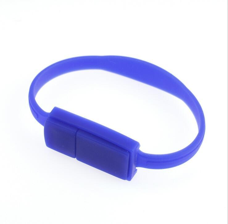 Silicone Wristband USB Flash Drive, Bracelet USB Flash Drives