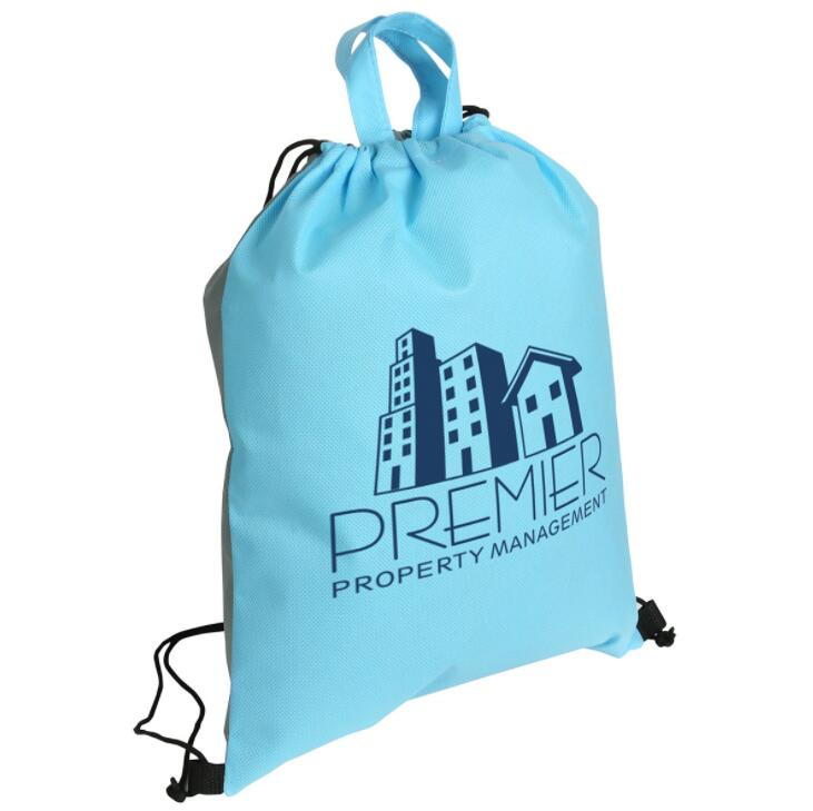 East Promotions durable drawstring bag from China for school-1