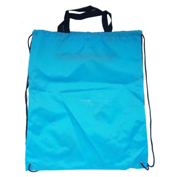 Promotional Gift Polyester Drawstring Bag with zipper