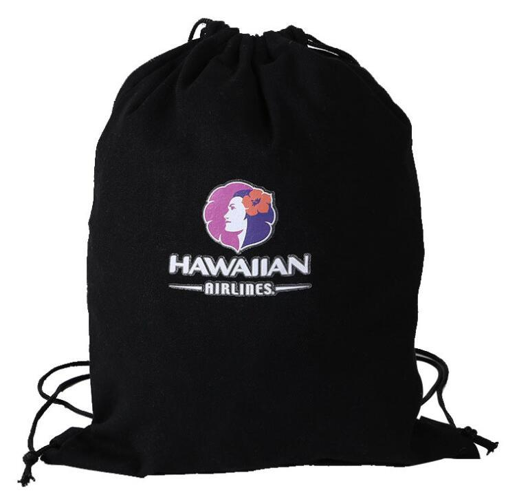 Eco-Friendly Canvas Cotton Drawstring Shopping Goody Bag for Advertising Gifts