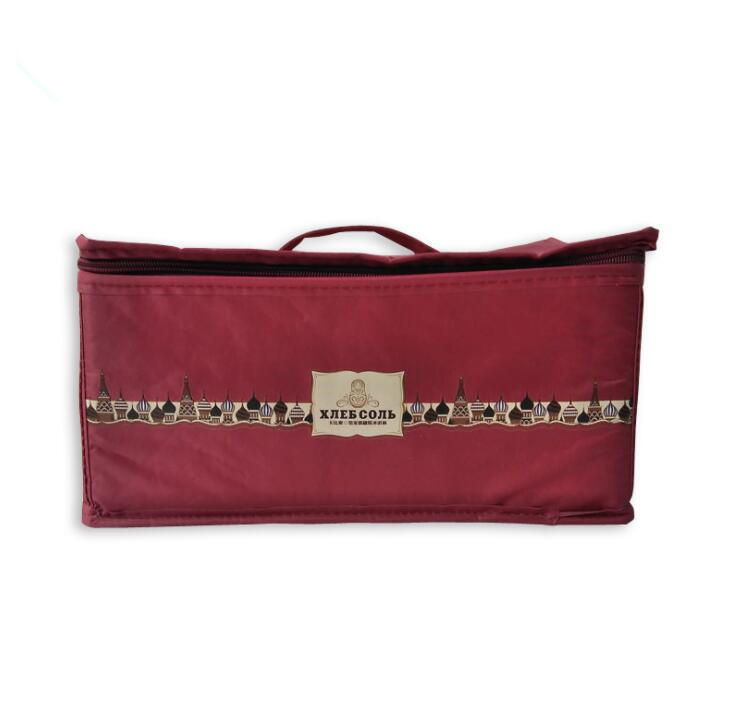 Custom Print Non Woven Lunch Insulated Cooler Bag Cooling Bag