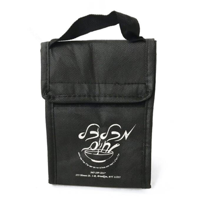 China Manufacture Promo Non-Woven Insulated Thermal Lunch Cooler Bag