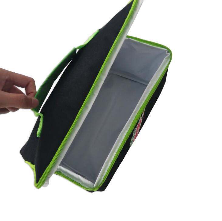 Promotional Customized Printing 600d Polyester Picnic Insulated Lunch Cooler Bag