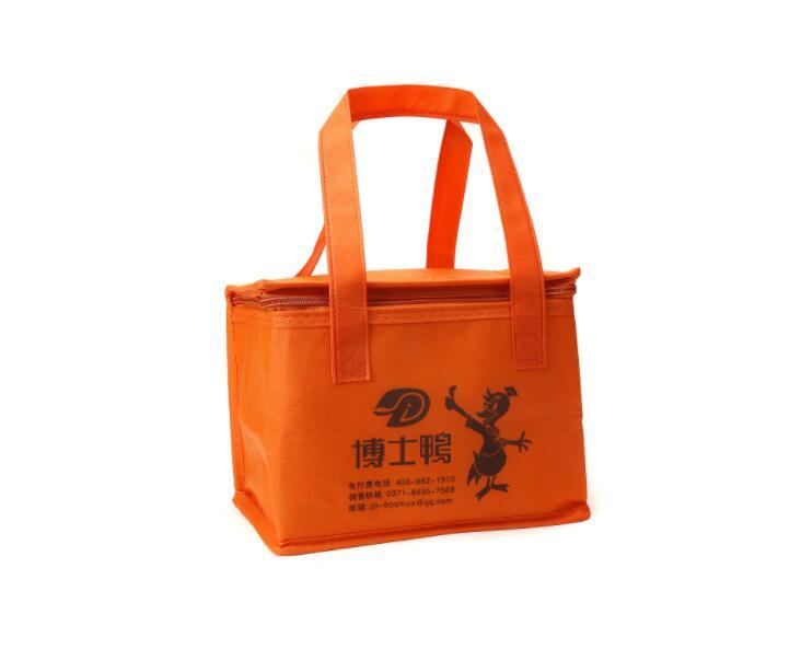 Promotional Supermarket Insulated Cooler Thermal Lunch Box Bag
